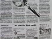 Bài viết của báo Gia dinh
